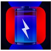 Battery saver life icon