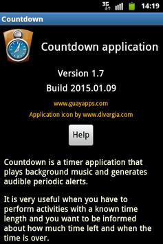 Countdown with music screenshot 3