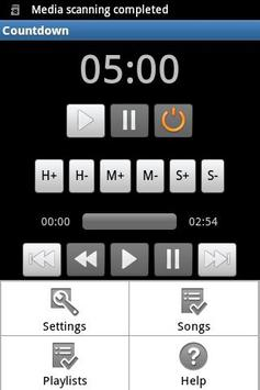 Countdown with music screenshot 1