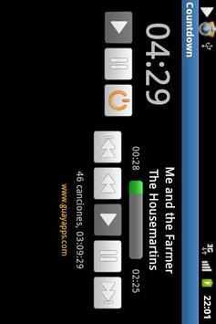 Countdown with music screenshot 2
