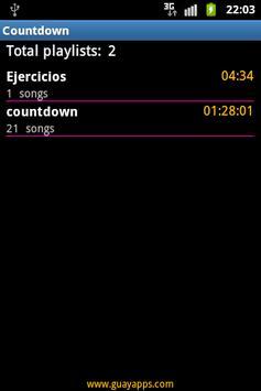 Countdown with music screenshot 5