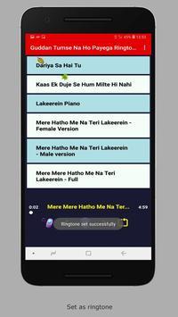 Guddan Tumse Na Ho Payega Ringtones screenshot 3
