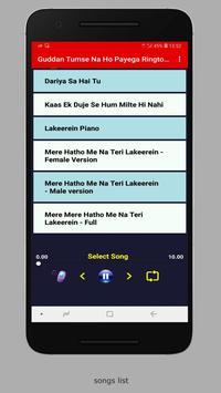 Guddan Tumse Na Ho Payega Ringtones screenshot 1