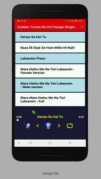 Guddan Tumse Na Ho Payega Ringtones screenshot 4