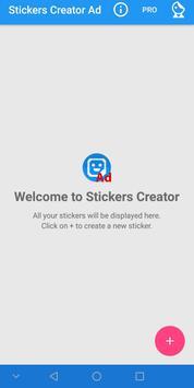 Stickers Creator Ad постер