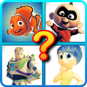 Guess Pixar Character icon