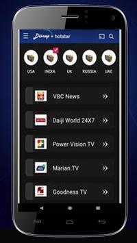 Guide Hotstar - Live Free TV HD Hotstar 2020 screenshot 5