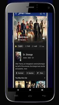 Guide Hotstar - Live Free TV HD Hotstar 2020 screenshot 3