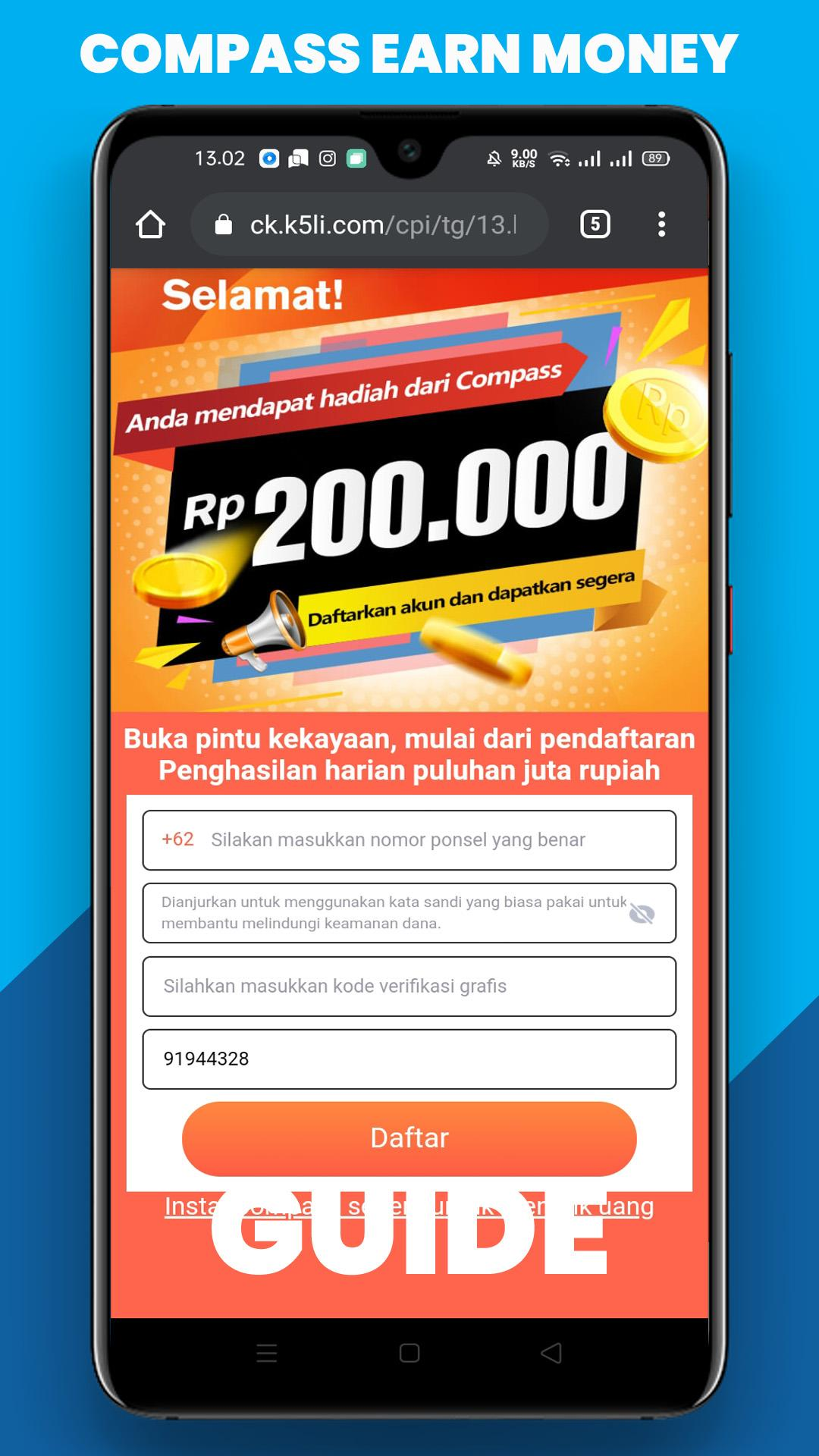 Compass Penghasil Uang Guide For Android Apk Download