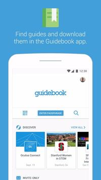 Guidebook poster