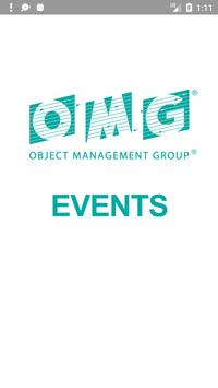 Object Management Group Events poster