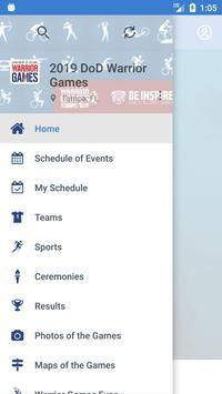 2019 DoD Warrior Games screenshot 1