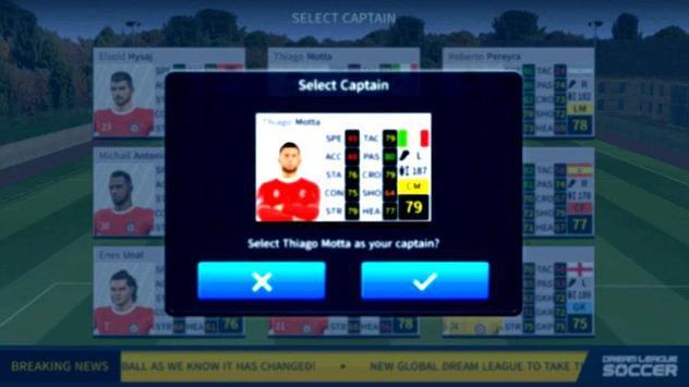 Guide For Dream League Soccer 2019 New DLS screenshot 3
