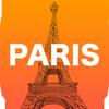 Paris. Guia de viagem ícone