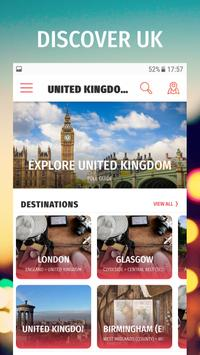 ✈ Great Britain Travel Guide Offline poster