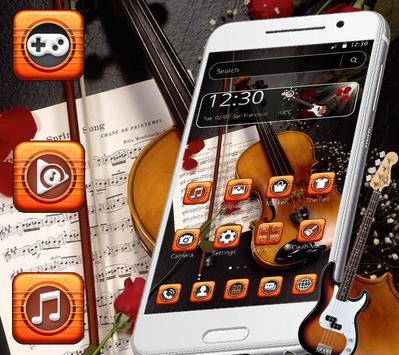 Book Guitar Launcher Theme screenshot 4