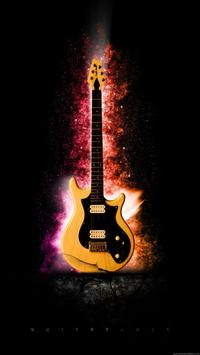 Guitar HD wallpaper screenshot 1
