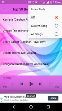 Top 50 Bollywood Songs 2018 screenshot 4