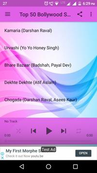 Top 50 Bollywood Songs 2018 poster
