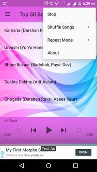 Top 50 Bollywood Songs 2018 screenshot 2