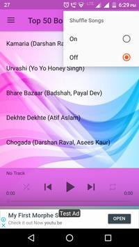 Top 50 Bollywood Songs 2018 screenshot 3