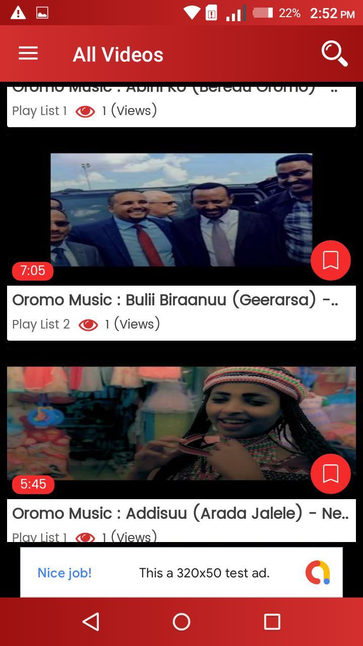 Oromo Music Video - Sirba Afaan Oromoo for Android - APK Download