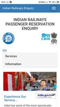 SMART INDIAN RAILWAY APP screenshot 8