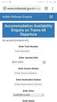 SMART INDIAN RAILWAY APP screenshot 10