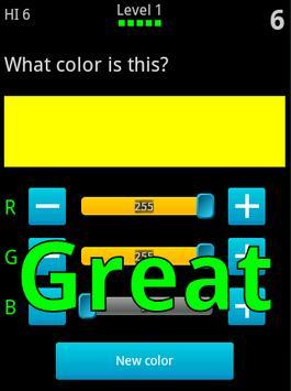 Colortrainer screenshot 2
