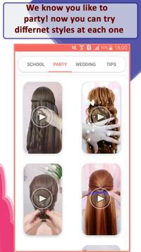 Girls Hairstyle Steps screenshot 2