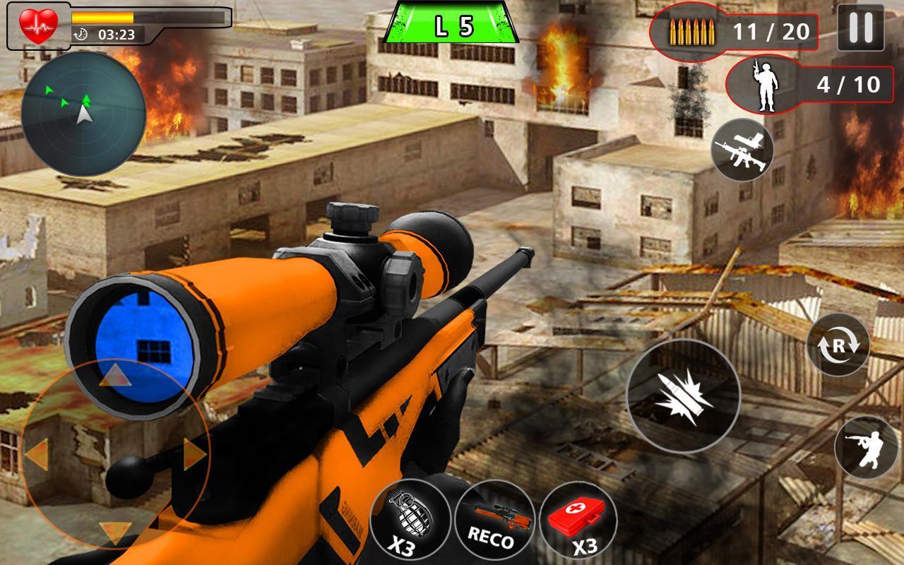Advance Action Shooting Sniper Fury 2020 screenshot 1
