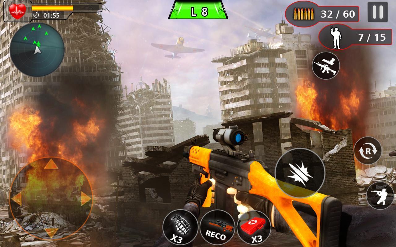 Advance Action Shooting Sniper Fury 2020 screenshot 2