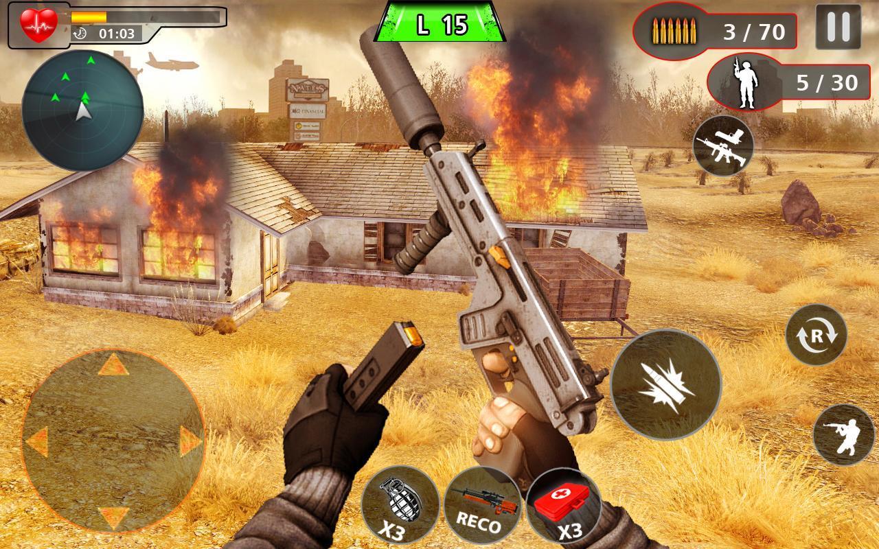 Advance Action Shooting Sniper Fury 2020 screenshot 3
