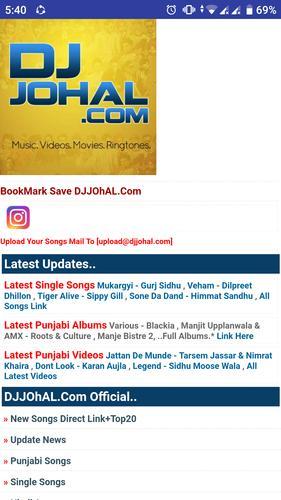 Djjohal - Punjabi songs & Hindi songs for Android - APK Download
