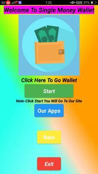 Single Money Wallet poster