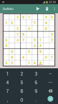 Sudoku screenshot 9