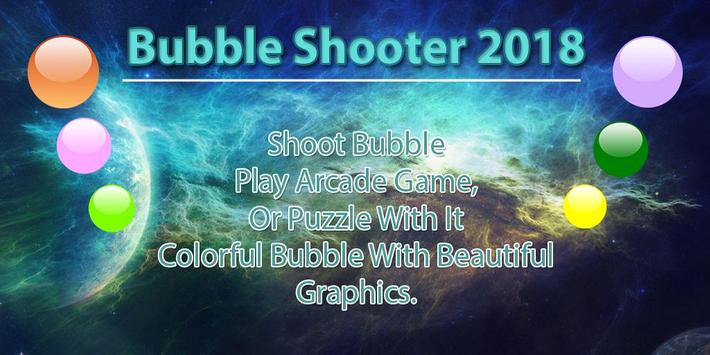 Bubble Shooter 2018 poster