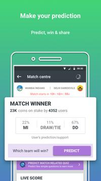 Prediction Guru™ - Live Score, Sports tip #ENGvsWI screenshot 1