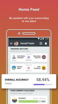 Prediction Guru™ - Live Score, Sports tip #ENGvsWI screenshot 2