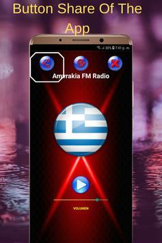 Amvrakia FM Radio Greece screenshot 3