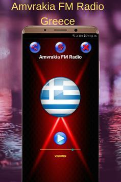 Amvrakia FM Radio Greece poster