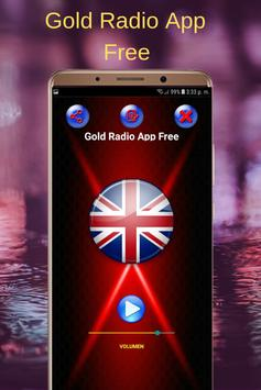 Gold Radio App Free poster