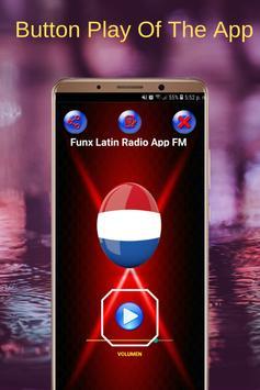 Funx Latin Radio App FM NL Online screenshot 1