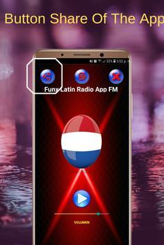 Funx Latin Radio App FM NL Online screenshot 3