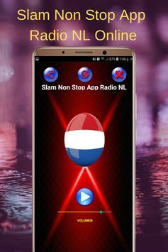 Slam Non Stop App Radio NL Online poster