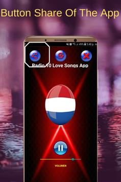 Radio 10 Love Songs App FM NL Online screenshot 3