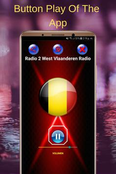 Radio 2 West Vlaanderen Radio Online Free screenshot 1