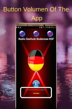 Radio Seefunk Bodensee RSF App FM Online screenshot 2