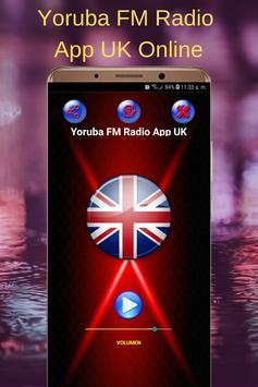 Yoruba FM Radio App UK Online poster