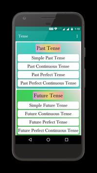 Tense screenshot 1